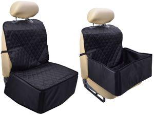 2 in 1 Autositz Schutzdecke Transportbox Schondecke Transportkiste Decke Schutz