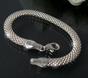 Silber 925 Armband Geflecht 6mm x19cm Schmuck Damen Niklarson ES5056