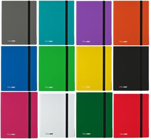 Ultra Pro - 9-Pocket Pro Binder Eclipse - Sammelkartenalbum, Farbe:Jet Black