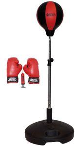 Box-Set: Punchingball, Boxhandschuhen & Minipumpe, 63505