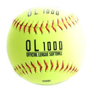 Franklin softball Übung OL1000 Vinyl 9 cm gelb