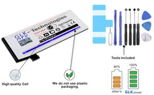 GLK-TECHNOLOGIES MEGA Akku Battery für Original Apple iPhone 5S 5 S Werkzeug Set PRO