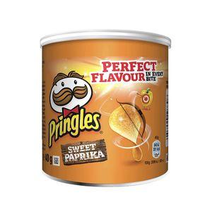 Pringles Sweet Paprika Stapelchips mit würzigem Geschmack 40g
