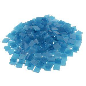 250 Stück Mosaikfliesen Farbe Blauer See