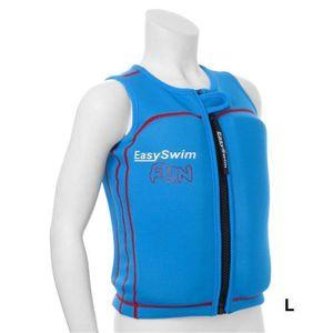 EasySwim - UV-Schwimmweste für Jungen - Fun - Blau, L
