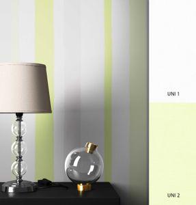 Streifentapete  Weiß   Modern Landhaus  Streifen Linien  Cirilo Muster