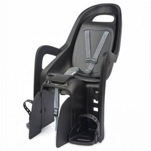 Polisport fahrradsattel hinten Groovy Maxi-Trägerbefestigung schwarz/grau