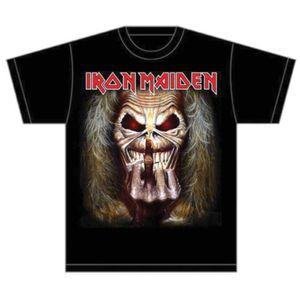 Iron Maiden Eddie Candle Finger Mens T Shirt: X Large