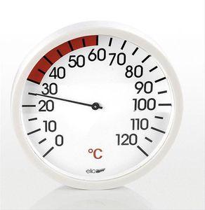 Eliga Thermometer für Infrarotkabine Ø 120mm weiß