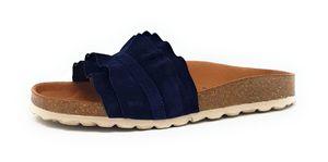 Verbenas Rocio Roda Damen Pantolette in Blau, Größe 39