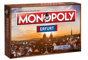 Monopoly Erfurt Stadt City Edition Gesellschaftsspiel Brettspiel Spiel Thüringen