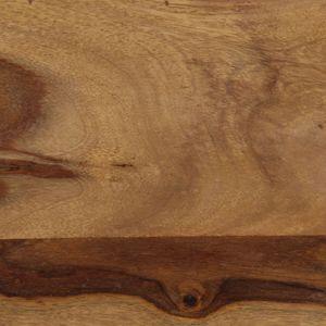 Bartisch Massivholz 118x60x107 cm Esszimmertisch für 4 Personen