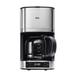 AEG KF 7700 Kaffeeautomat PremiumLine 7000Series mit Timer Edelstahl, Farbe:Silber