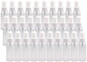 30er Pack 50ml Fine Mist Mini Sprühflaschen mit Pump Sprühkappe