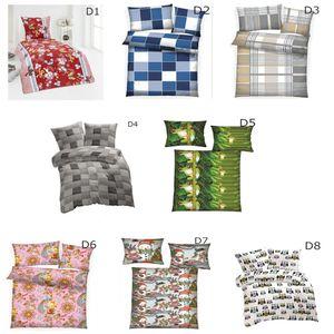 8tlg. Microfaser Bettwäsche Winter Thermo Kuschel Fleece Kissenbezug 135x200 Spannbettlaken Bettlaken Spannbetttuch Kissenhülle, Design - Motiv:Design 2