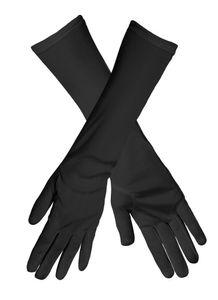 Boland schöne Damen Ellenbogenhandschuhe schwarz