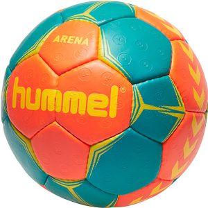 hummel Arena Handball nasturtium/viridian/yellow 3