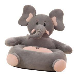 Kinder Sofa Sitzbezug Sessel Tierform Baby Sitzsack Abdeckung Elefant wie beschrieben