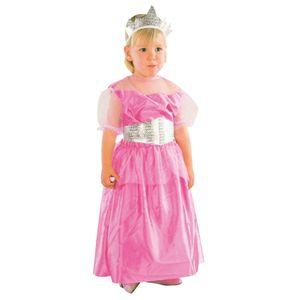 Prinzessin rosa/silber Kinderkostüm