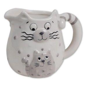 Sumcolino Krug klein, Katzen Mama und Kind, 12 cm