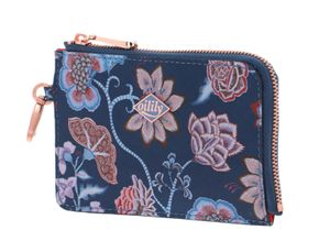 Oilily Royal Sits Card Zip Wallet Ensign Blue