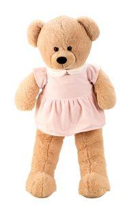 Riesen Teddybär Kuschelbär Mädchen XXL 100 cm groß Plüschbär Kuscheltier samtig weich - zum liebhaben
