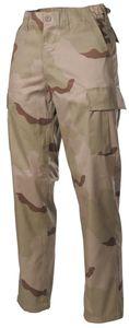 US Kampfhose BDU, 3 Farben desert, Größe S