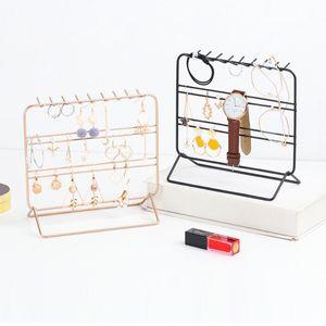2pcs Schmuckhalter Schmuckständer Einfaches Design Schmuckrack Kettenständer Ohrringständer