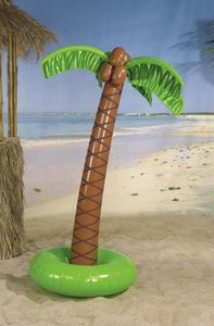 Aufblasbare Palme mit Kokosnüssen