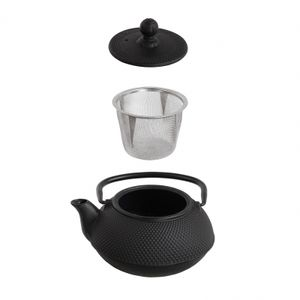 LIVOO Teekanne Gusseisen gusseisernes Tee-Service Set MEN368