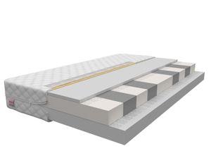 Matratze 140 x 200 cm MONZA 9 Zonen H2/H3 Premium hochelastisch Kaltschaum Schaummatratze Höhe ca 14 cm