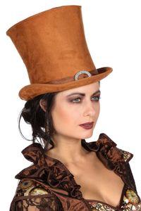 Kostüm Zubehör XXL Damen Zylinder Hut Karneval Fasching Party