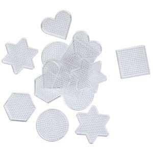 Stiftplatten Set, 15 Stück für Bügelperlen Ø 5 mm