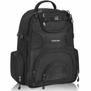 Kamerarucksack CAMBAG Fotorucksack D-SLR Laptop Rucksack Kameratasche Schwarz - Auswahl (Buxton - Backpack XL)