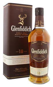 Glenfiddich 18 Jahre Single Malt Scotch Whisky   40 % vol   0,7 l