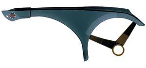 Hebie Kettenschutz 1-flügelig verstellbar transparent Ausführung transparent für 44 Zähne