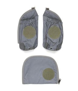 ergobag pack, cubo, cubo light Seitentaschen Zip-Set, ab Kollektion 19/20 Reflex