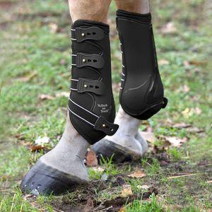 Back on Track Royal Work Hind Boots schwarz, Größe:Full