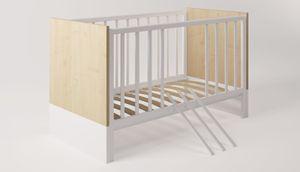 Polini Kids Babybett Kombi-Kinderbett Classic 140 x 70 cm,1239.39