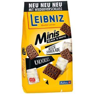 Bahlsen Minis Black n White Butterkekse mit weißer Schokolde 125g