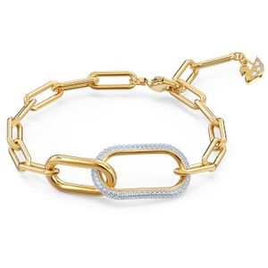 Swarovski Armband 5566003 Time, weiss, Metallmix