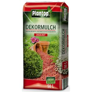 Plantop Dekor-Mulch ziegelrot 10-40mm 50 Liter