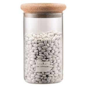Bodum Vorratsglas mit Korkdeckel Yohki 1 Liter