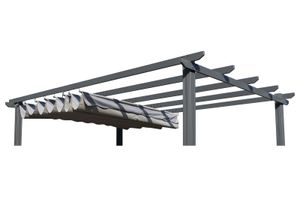 OUTFLEXX Ersatzdach für OUTFLEXX Pergola, anthrazit, Polyester, wasserabweisend, 350 x 256 cm