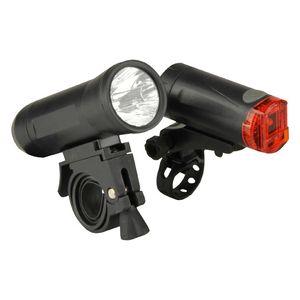 Fischer  Beleuchtungs-Set LED 15 LuX Beam für Fahrräder