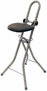 Bügelstehhilfe höhenverstellbar - Stehhilfe Stehstuhl Stehsitz Bügelstuhl