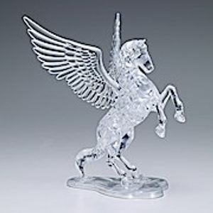 3D Crystal Puzzle - Pegasus - 42 Teile