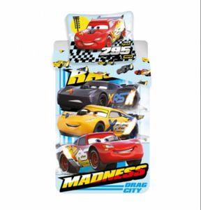 """Cars """"Madness"""" Bettwäsche 140/200 + 70/90 100% Baumwolle"""