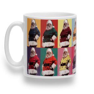 Christmas Shop Tasse mit weihnachtlichem Motiv RW3750 (Einheitsgröße) (Weihnachtsmann)