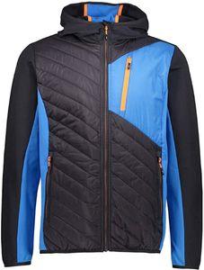 Cmp Man Fix Hood Hybrid Jacket Antracite Antracite 50